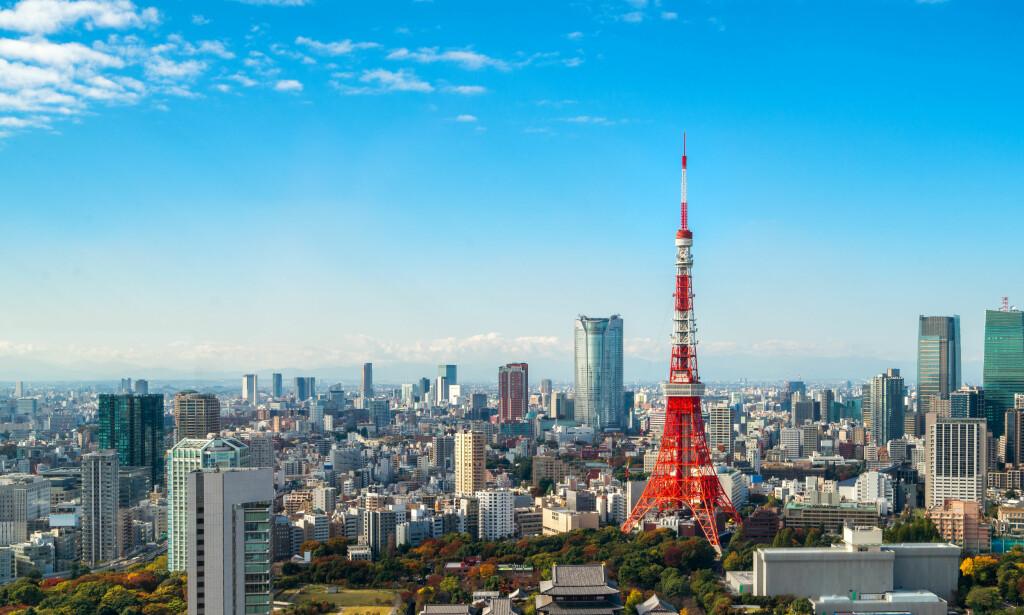 TOKYO BILLIGST AV LANGDISTANSEDESTINASJONENE: Ifølge britiske Post Office er Tokyo den billigste langdistansedestinasjonen å reise til i 2018. Totalprisen i prisindeksen er for eksempel 474 kroner i Tokyo mens den er 948 kroner i Phuket. Foto: Shutterstock/NTB scanpix