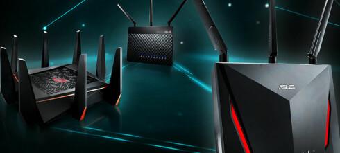 Lager mesh-nettverk av vanlige rutere