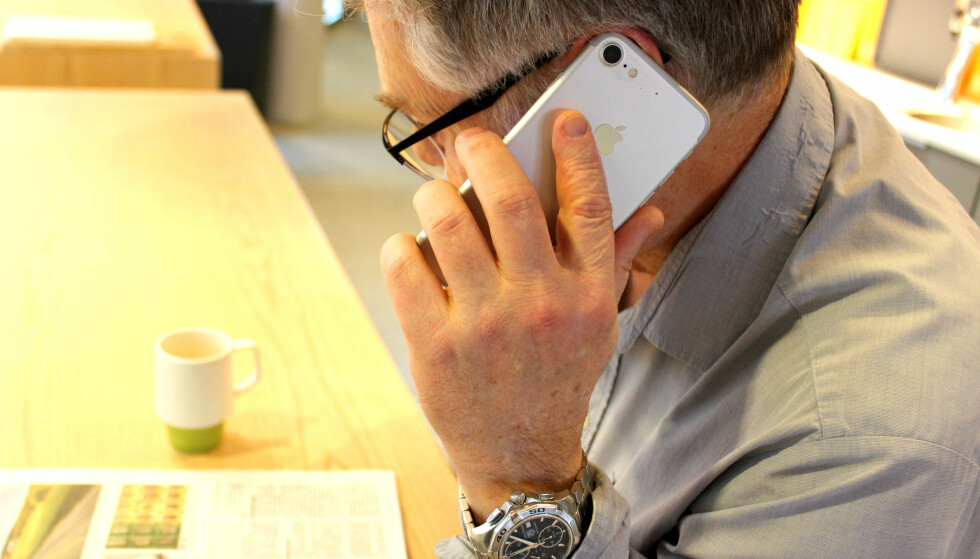På klagetoppen: Forbrukertilsynet opplever å få mange klager for telefonsalg. I 2017 mottok de 1566 klager totalt. Foto: Susanne Skaug
