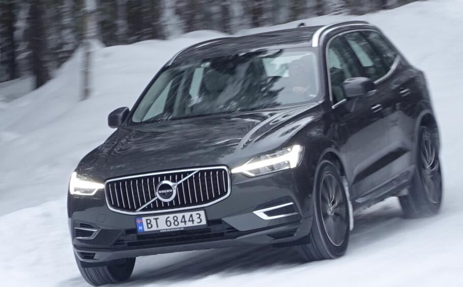POWER FOR FOLKET: Fornuftige Volvo gir Ola Normann 407 hester. Kun den minste dieselen i XC60-programmet er bare så vidt billigere. Foto: Rune M. Nesheim