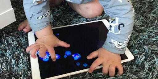 image: Gjør Apple-dingsen tryggere å bruke for barna