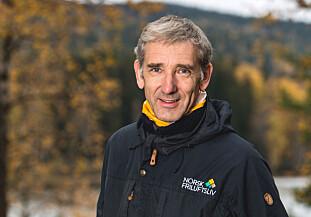 TA HENSYN: Lasse Heimdal, generalsekretær i Norsk Friluftsliv, oppfordrer til å vise hensyn - og å ikke ødelegge skiløypene. Foto: Norsk Friluftsliv