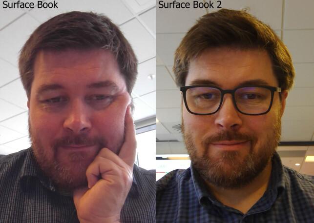 FORBEDRET Kontraster, farger og skarphet er vesentlig bedre på bildene tatt med Surface Book 2 enn med forgjengeren.