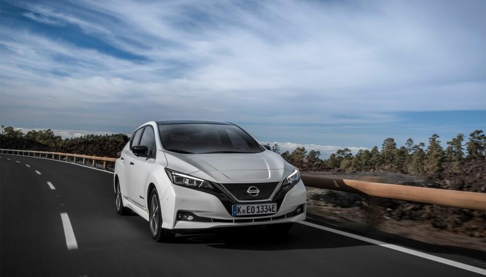 KVIKK: Nye Leaf har vesentlig forbedrede ytelser i forhold til sin forgjenger. Foto: Nissan