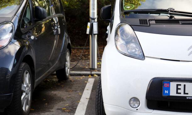 image: Elbiler mottar mystiske «parkeringsbøter»