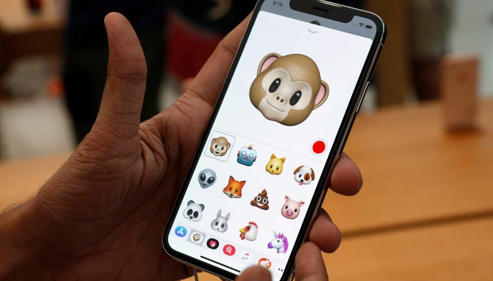 MER ANIMOJI: Du får flere figurer å leke deg med på iPhone X i den neste iOS-oppdateringen. Foto: NTB Scanpix/Reuters