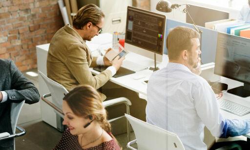 image: Mye på jobb, syns du? Denne statistikken sier noe annet
