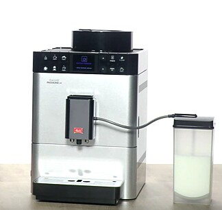 BEST I TEST: Melitta Caffeo Passione OT kommer best ut i Testfaktas test av espressomaskiner. Foto: YouTube/Melitta