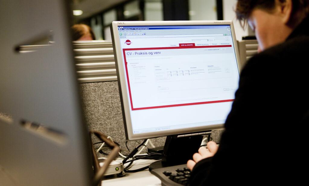 AVDEKKER SVINDEL: Hvert år avdekker Nav trygdesvindel for mange millioner kroner. Foto: NTB Scanpix