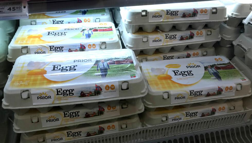 MYE Å SPARE: Kjøper du 18 egg i stedet for 6 på Meny, sparer du to kroner og 44 øre per egg. Foto: Tore Neset