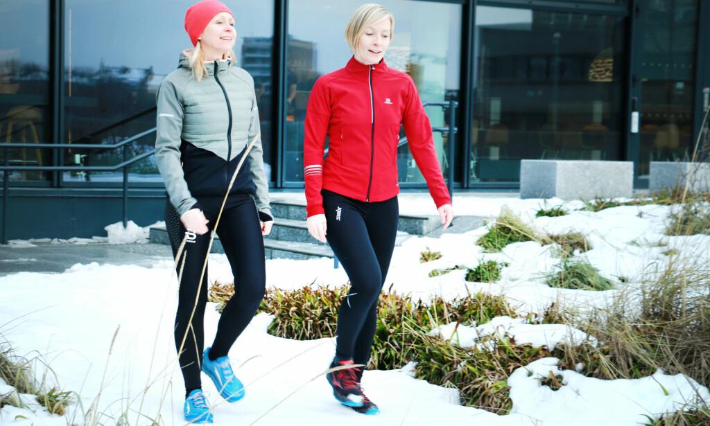 TEST AV TRENINGSJAKKER FOR VINTERBRUK: Vi har testet seks treningsjakker for vinterbruk. Det er store forskjeller både på komfort, praktisk bruk og ikke minst på varme- og pusteevne. Foto: Ole Petter Baugerød Stokke
