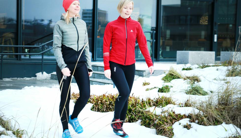 <strong>TEST AV TRENINGSJAKKER FOR VINTERBRUK:</strong> Vi har testet seks treningsjakker for vinterbruk. Det er store forskjeller både på komfort, praktisk bruk og ikke minst på varme- og pusteevne. Foto: Ole Petter Baugerød Stokke