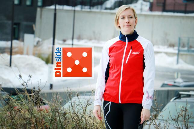 SWIX: Veldig god jakke, passe varm og puster godt. Men den roper ski! Foto: Ole Petter Baugerød Stokke