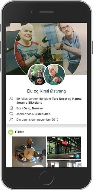 EGNE VENNSKAP: Trykker du på «se vennskap» hos en Facebook-venn, får du opp vennskapssidene deres. Foto: Ole Petter Baugerød Stokke