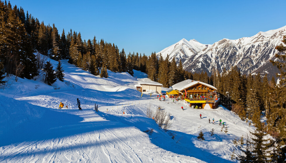 SØK SNØFØRE I SVEITS: Bad Gastein i de østerrikske alper er en av de mest populære destinasjonene for skielskende nordmenn. Foto: Tatiana Popova/Shutterstock/NTB scanpix.