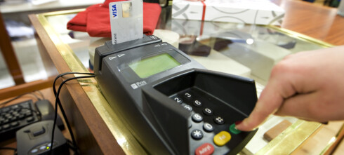 - Ved strømbrudd vil verken kortterminal eller kontantkassen fungere