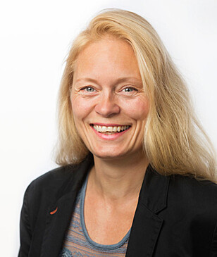 <strong>NEGATIV:</strong> Hege Steinsland i BankID håper politikerne stemmer ned forslaget. Foto: BankID