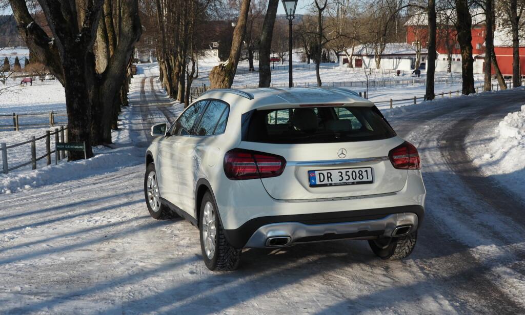 OPPGRADERT: GLA kjører fortsatt bra og du kan få en under 400.000 kroner. Foto: Rune M. Nesheim