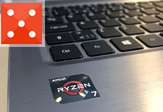 Den beste PC-en vi har testet med AMD-prosessor