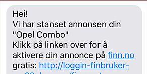 image: Finn.no er også utsatt for svindelforsøk