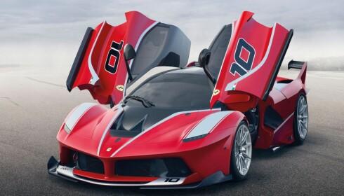 BEST AV ALLE: Ingen leverer bedre inntjening per produserte bil enn Ferrari. Foto: Ferrari