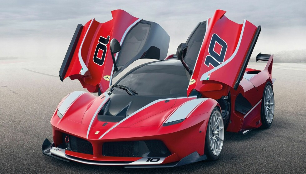 NOE ANNERLEDES: Ferrari-SUV-en kan komme allerede i 2019, men den er ennå ikke vist fram. Første visning er ventet å være på bilmessa i Genève i mars. Derfor lar vi sportsbilen FXX K få representere italienerne på bildet. Foto: Ferrari