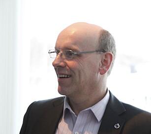 FORVENTNINGSFULL: Direktør for produkt og pris i Volvo Norge, Hermod Wallestad, lover de tyske premiummerkene konkurranse.Foto: Øystein Fossum