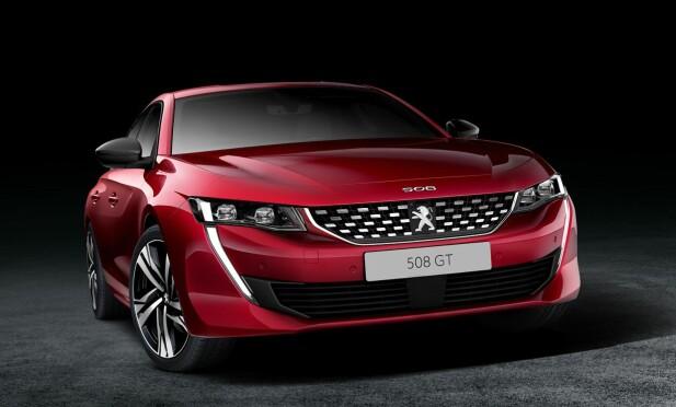 SINT: Målet fra Peugeot har vært at bilen skal se potent ut. Dette er GT-modellen. Foto: Produsenten