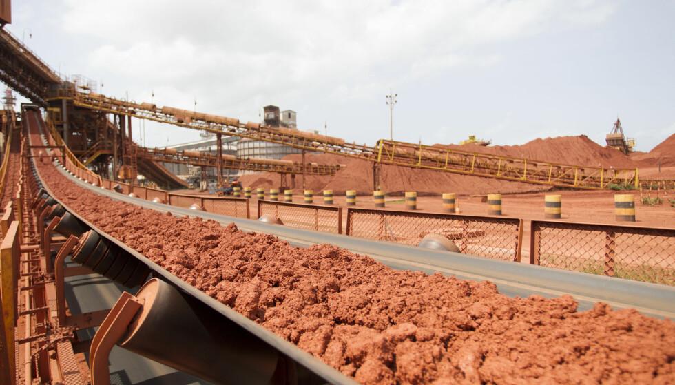 RAFFINERI: Alunorte i Brasil er i dag en av verdens største produsenter av råstoffet alumina. Hydro eier 34 prosent av selskapet. Foto: João Ramid/Norsk Hydro ASA.