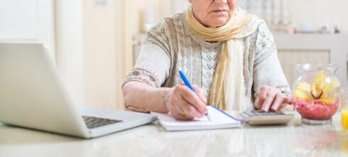 - Alvorlig når du ikke kan stole på pensjonskalkulatoren