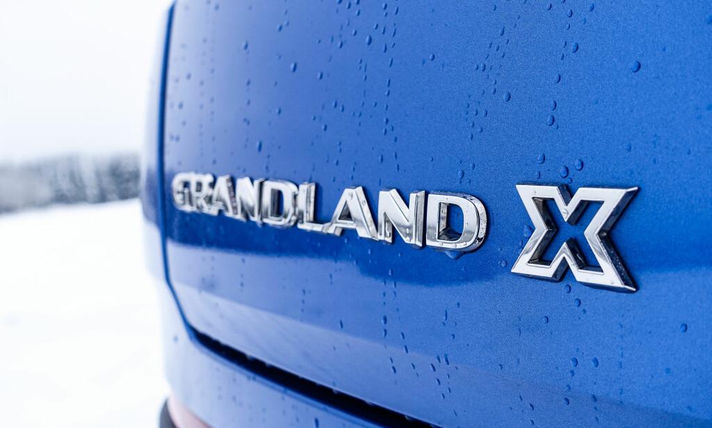UPASSENDE: Opel Grandland X er verken grand, diger eller med firehjulstrekk. Foto: Rune M. Nesheim