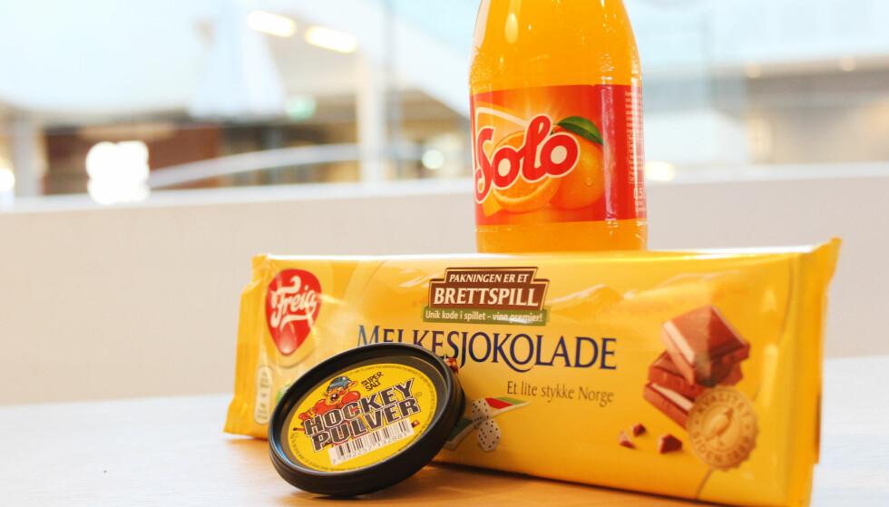 AVGIFTER: Hvor mye man betaler i avgifter, avhenger av hva slags sukkerholdige varer du kjøper. Foto: Berit B. Njarga
