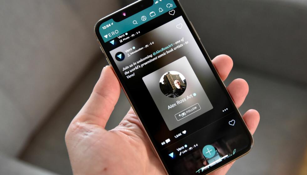 BOOM: Etter å ha vært tilgjengelig i nesten to år, skjøt plutselig Vero fart – nå er den nummer én i App Store i elleve land. Foto: Pål Joakim Pollen