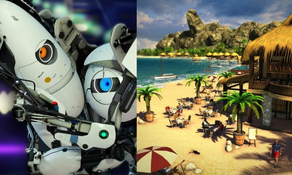 NOE FOR EN HVER: Portal 2 og Tropico 6 er spill som gir deg noe, på hver sin måte. Utsnitt: Susanne Skaug