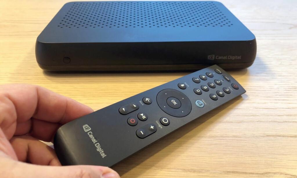 FORENKLER: Canal Digital-kunder kan nå få vanlige TV-kanaler, strømmetjenester, apper og spill på ett sted. Foto: Bjørn Eirik Loftås