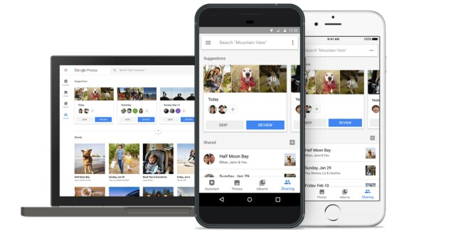 ALT PÅ SAMME STED: Med Google Photo kan du automatisk laste opp bilder og video fra alle dine enheter til ett sted. Foto: Google