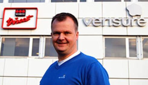 Sikkerhetsekspert Kenneth Hovde Omdal i Verisure er bekymret for brannsikkerheten i norske hytter. Foto: Verisure