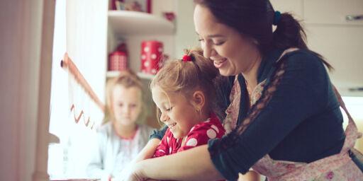 image: Du kan få pensjon for å være hjemme med småbarn