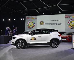 image: Volvo XC40 kåret til Årets Bil 2018