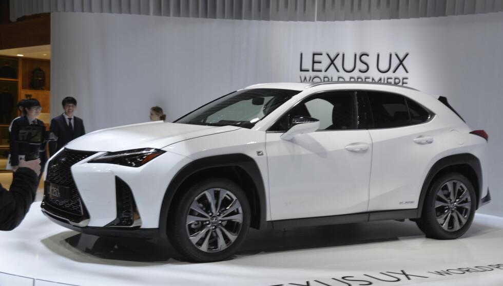 NY SUV: Lexus UX er et nytt tilskudd fra Toyotas premiummerke. Foto: Jamieson Pothecary