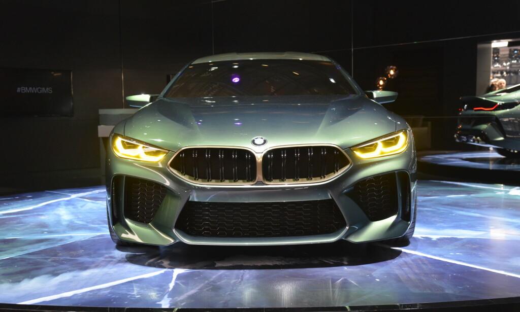 BARSK FRONT: Klassiske BMW-elementer kombineres med fornyet designspråk. Foto: Jamieson Pothecary