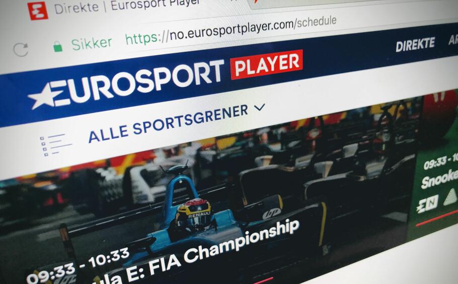 OL ER FERDIG: Eurosport kan blant annet friste med Tippe- og OBOS-ligaen videre, men om du bare registrerte deg for å se OL, begynner snart abonnementet å tikke videre. Foto: Pål Joakim Pollen