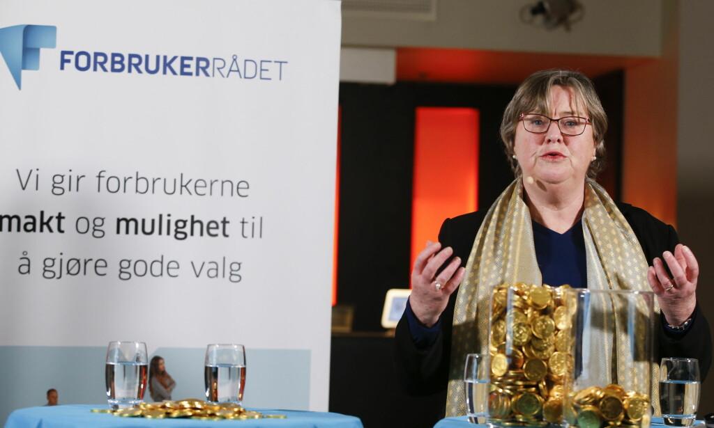 SPAREVALG: Elisabeth Realfsen mener funnene i DNBs undersøkelse av risikoviljen til sine kvinnelige og mannlige kunder, som viser at kvinner velger spareprodukter med mindre risiko, ikke er representativt for hele samfunnet. Foto: Terje Pedersen/NTB scanpix.