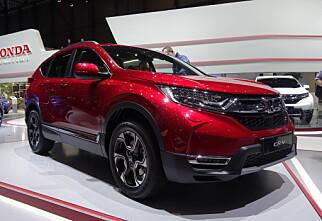 Nye Honda CR-V også som hybrid