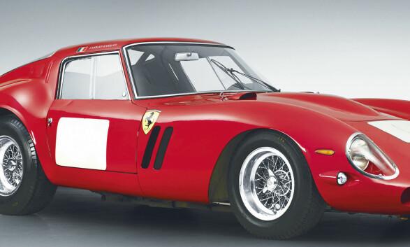 Ferrari dominerer listen over tidenes dyreste biler