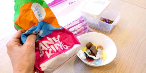 image: Slik bør du oppbevare godteriet