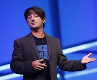 GJØR ENDRINGER: Microsofts Windows-sjef, Joe Belfiore. Foto: Microsoft