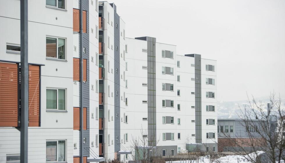ØKER: Prisene på brukte OBOS-leiligheter stiger kraftig over hele landet. Foto: Andreas Lekang, Dagbladet