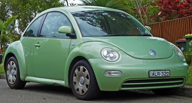 NYE-BOBLA: Volkswagen Beetle fra 1998. Foto: Wikipedia