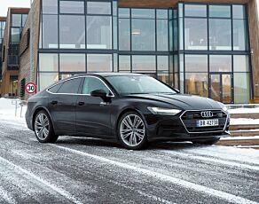 image: Test Audi A7: Selvkjørende minimalisme